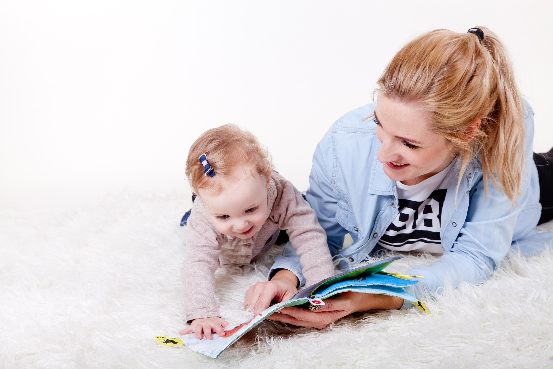 Play ideas for children, during which mother can rest.